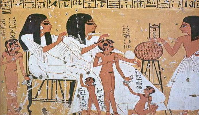 Мыло использовалось в древнем Египте
