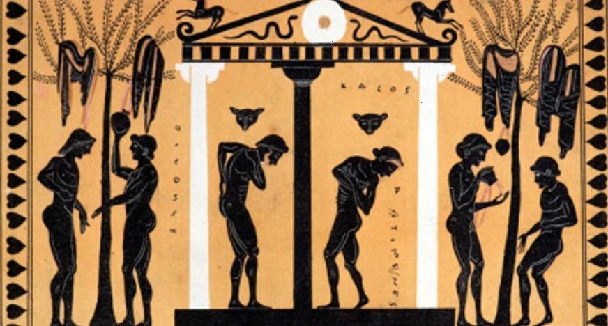 Мыло в древней Греции