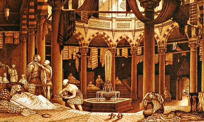 Мыло использовалось в древнем Риме