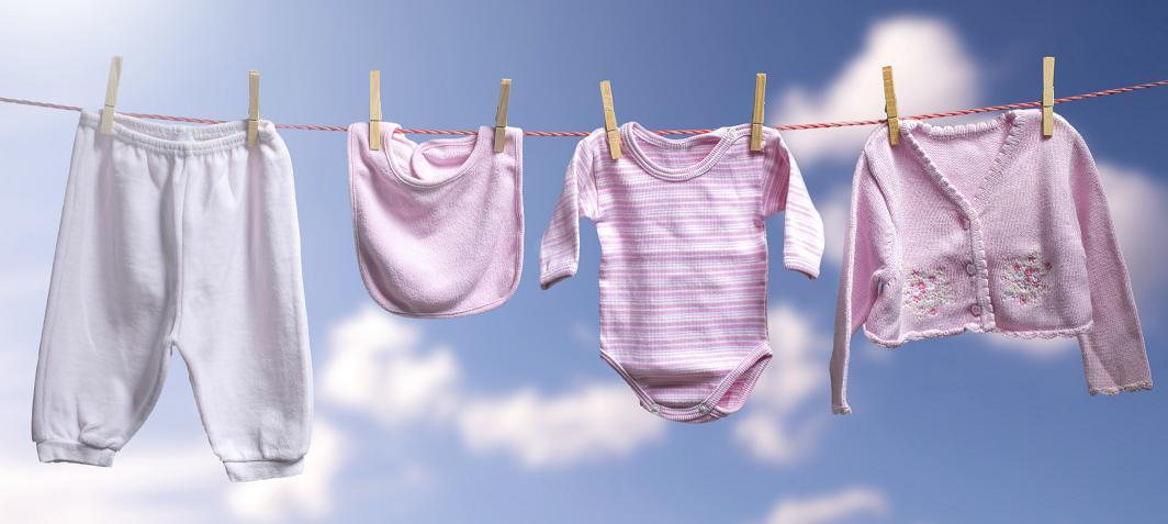 Натуральный стиральный порошок для стирки детской одежды