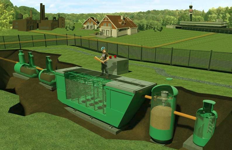 Фосфаты снижают эффективность работы автономной канализации