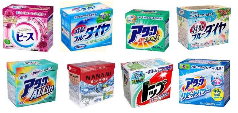 Обзор японских стиральных порошков