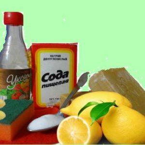 Содой можно мыть и стирать