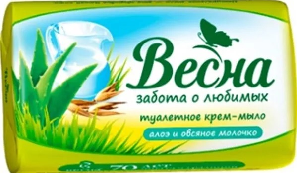 туалетное мыло Весна, химический состав
