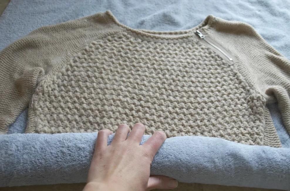 как сушить шерстяные вещи после стирки