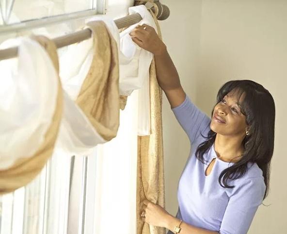 как стирать шторы из льна и хлопка в стиральной машине