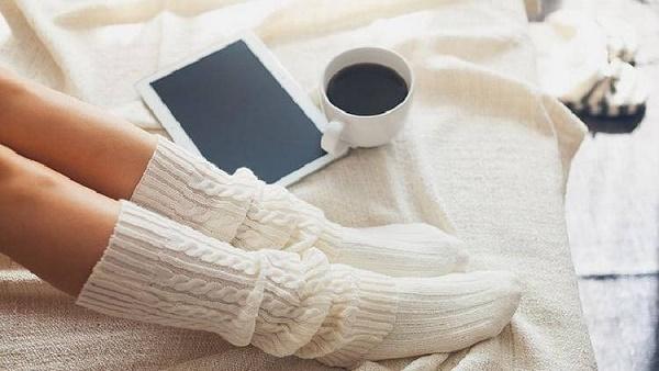 как стирать белые синтетические носки