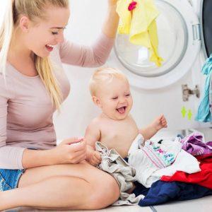 Как и чем стирать детское белье
