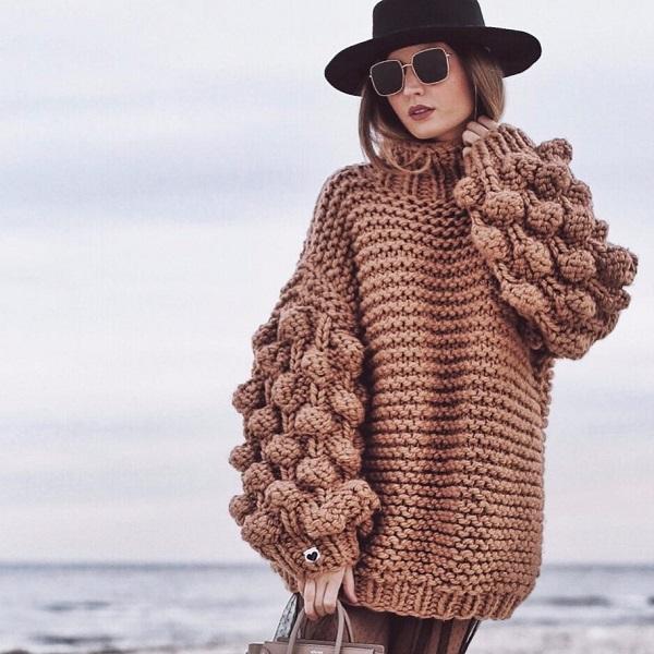 часто стирать вязаный свитер