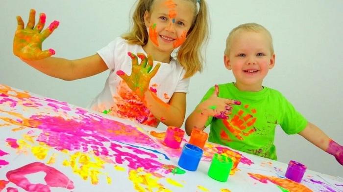 отстирать краску для рисования