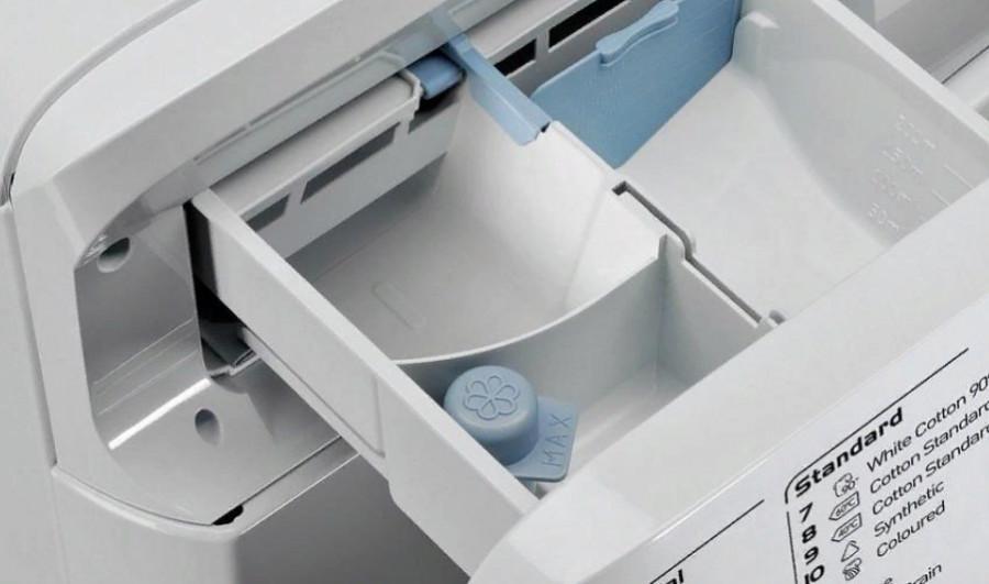 очистка лотка для порошка в стиральной машине содой и уксусом