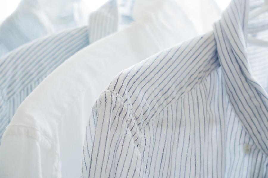 чем отстирать пот с воротника мужской рубашки